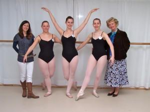 Advanced balletexamen IDTA